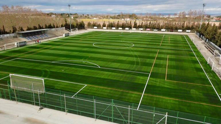 """Inauguración del césped artificial de la Ciudad Deportiva """"Ombatillo"""""""