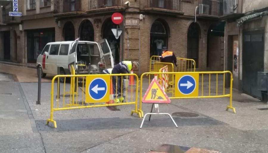 ¡ATENCIÓN! Corte de tráfico en la calle Mayor con calle La Cruz